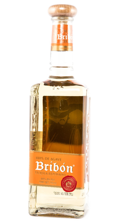 Bottle of Bribón Tequila Reposado