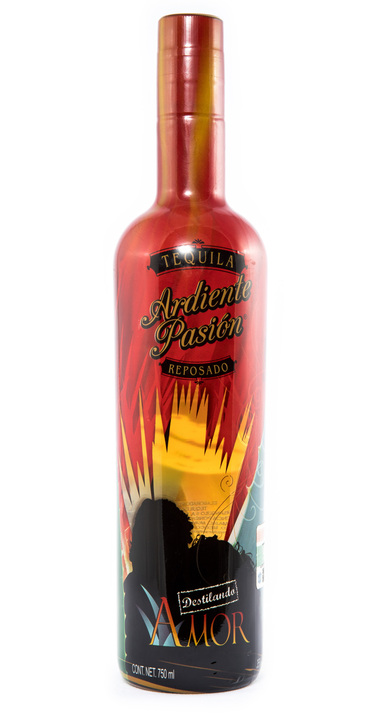 Bottle of Ardiente Pasión Reposado