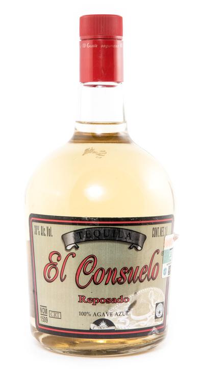 Bottle of El Consuelo Reposado