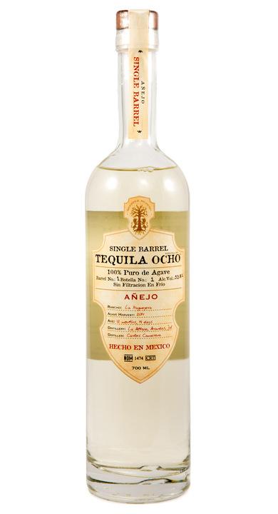 Bottle of Ocho Tequila Añejo (Single Barrel) - La Magueyera 2014