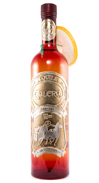 Bottle of Calera Tequila Añejo