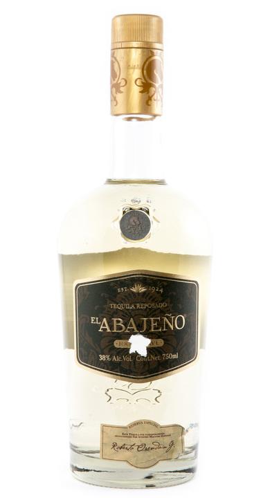 Bottle of El Abajeño Reposado
