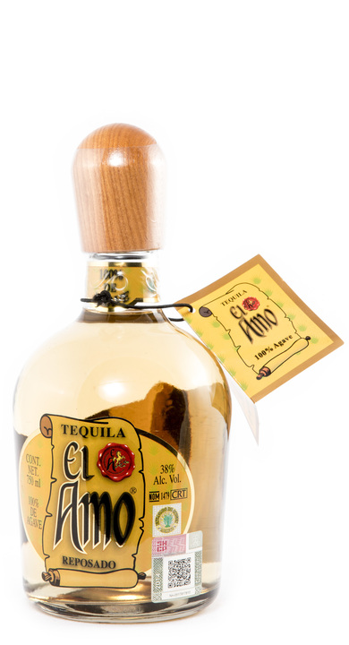 Bottle of El Amo Reposado