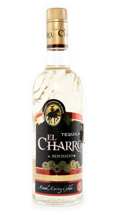 Bottle of El Charro Reposado