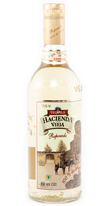 Bottle of Hacienda Vieja Reposado