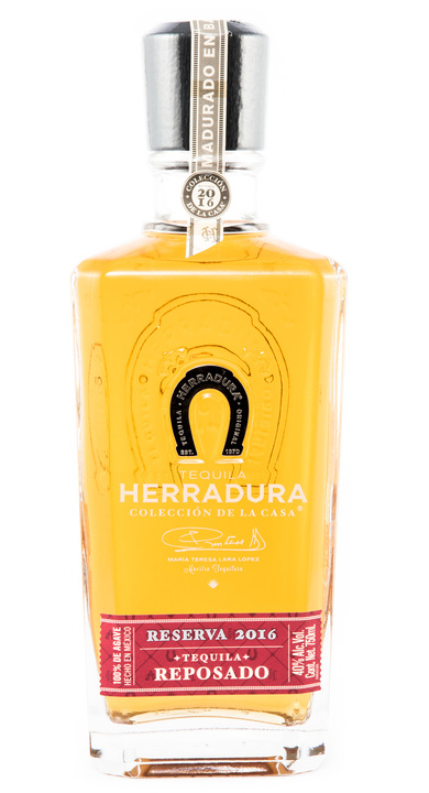 Bottle of Herradura Colección de la Casa Reserva 2016 Reposado – Port Cask Finish