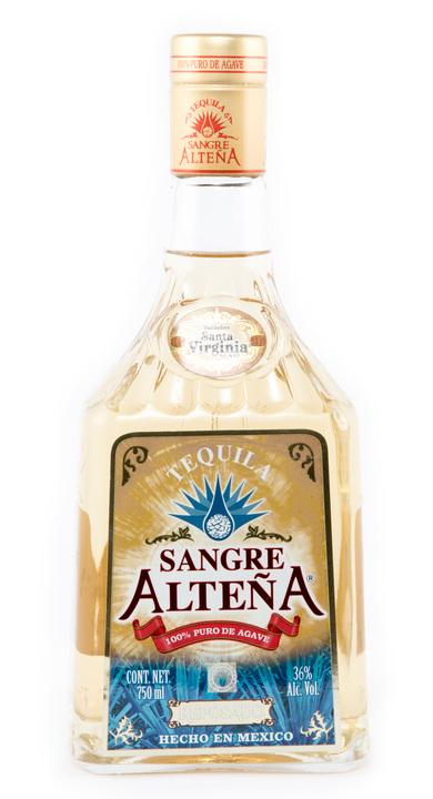 Bottle of Sangre Alteña Reposado