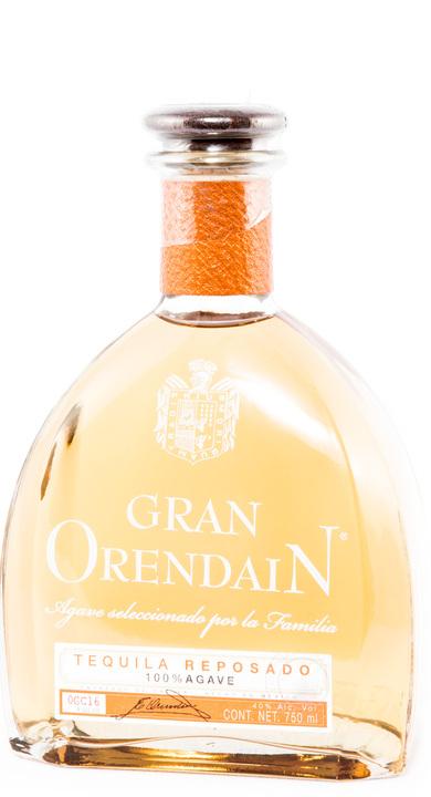 Bottle of Gran Orendain Reposado
