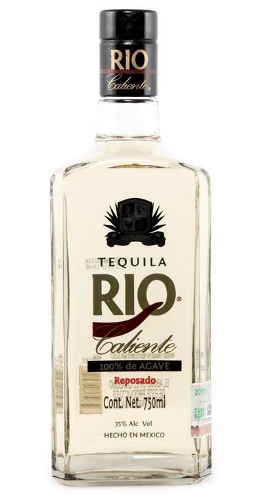 Bottle of Rio Caliente Reposado