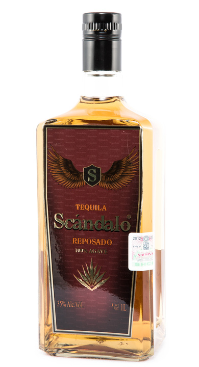 Bottle of Scandalo Reposado