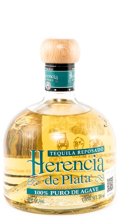 Bottle of Herencia de Plata Reposado