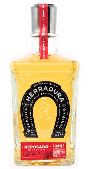 Bottle of Herradura Reposado