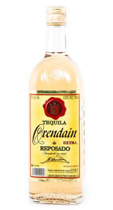 Bottle of Orendain Tequila Extra Reposado