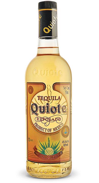 Bottle of Quiote Tequila Reposado