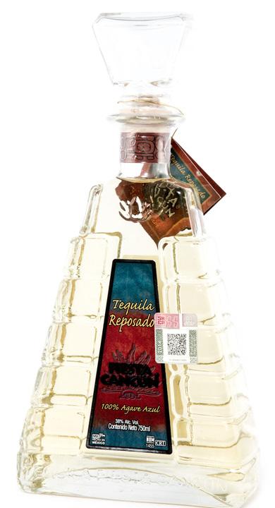 Bottle of Fiesta Cancun Tequila Reposado
