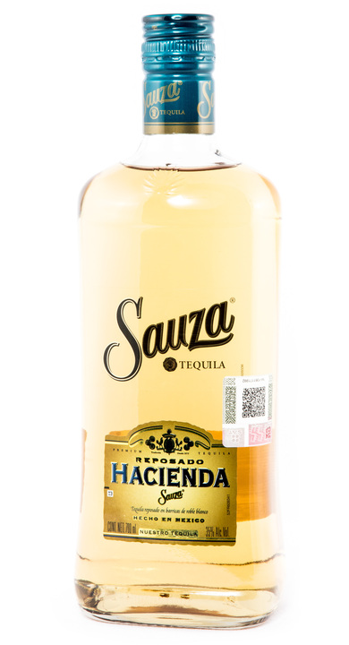 Bottle of Sauza Hacienda Reposado