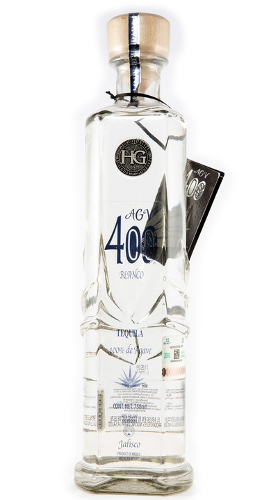 Bottle of Agv 400 Blanco