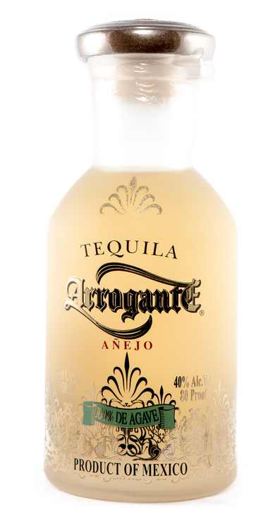 Bottle of Arrogante Añejo