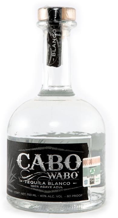Bottle of Cabo Wabo Blanco