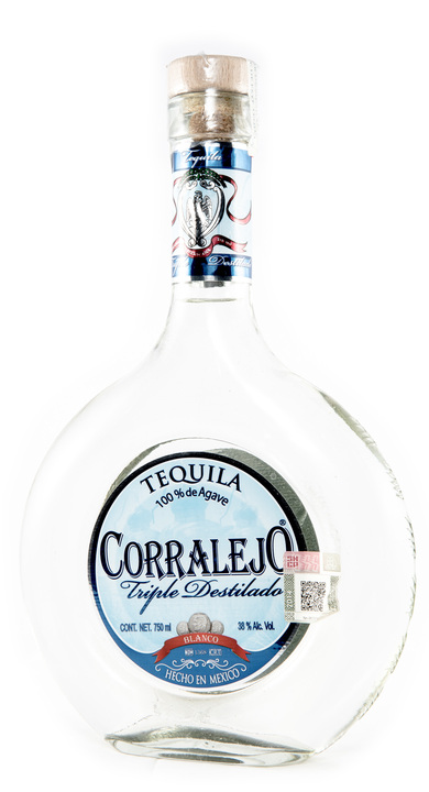 Bottle of Corralejo Blanco Triple Destilado