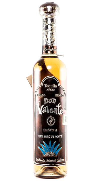 Bottle of Don Valente Añejo