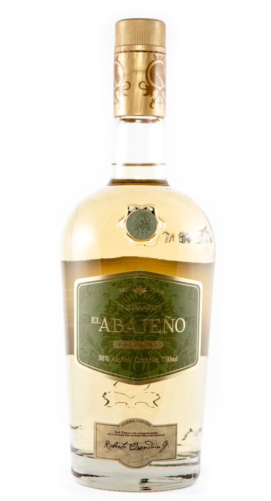 Bottle of El Abajeño Tequila Añejo