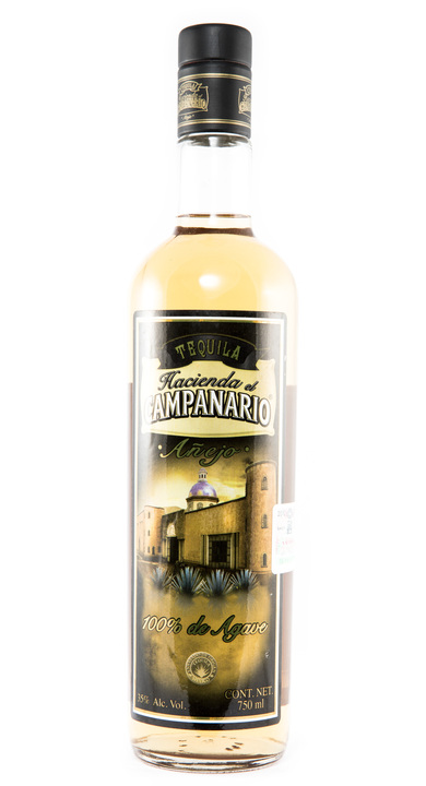 Bottle of Hacienda el Campanario Añejo