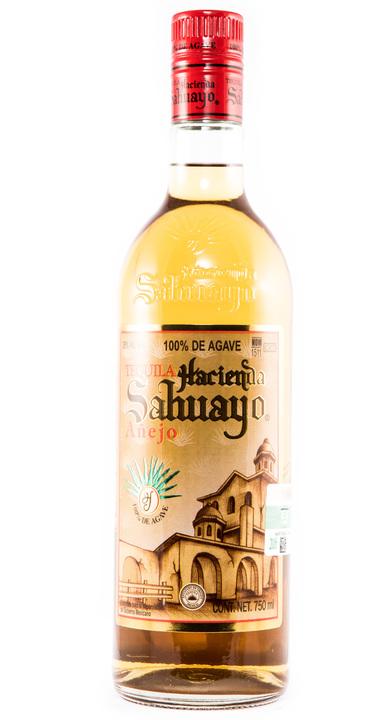 Bottle of Hacienda Sahuayo Añejo