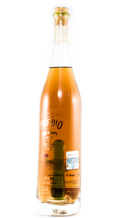 Bottle of Porfidio Tequila Añejo