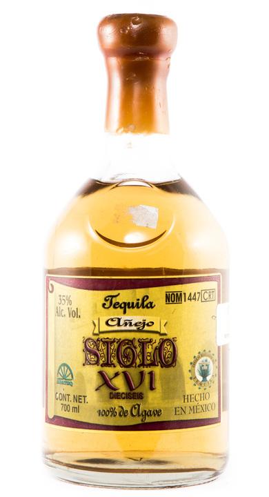 Bottle of Siglo XVI Añejo