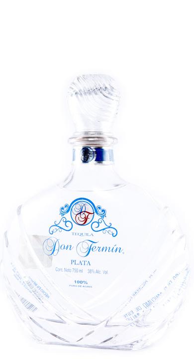 Bottle of Don Fermin Tequila Plata