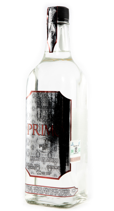 Bottle of Don Primo Tequila Blanco