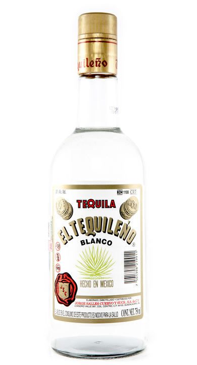 Bottle of El Tequileño Blanco