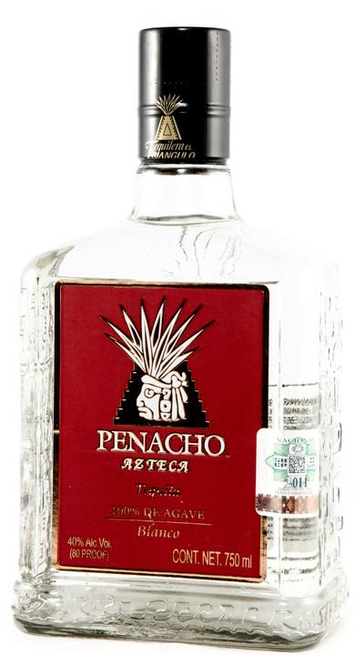 Bottle of Penacho Azteca Blanco