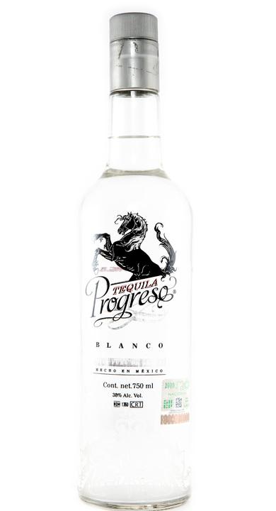 Bottle of Tequila Progreso Blanco