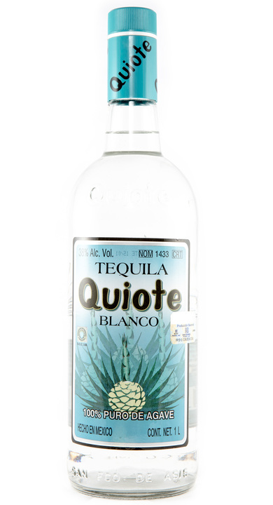 Bottle of Quiote Tequila Blanco