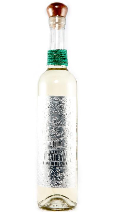 Bottle of Realeza Mexicana Tequila Plata