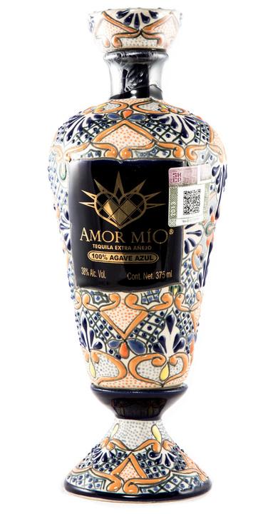 Bottle of Amor Mío Extra Añejo Ceramic Bottle