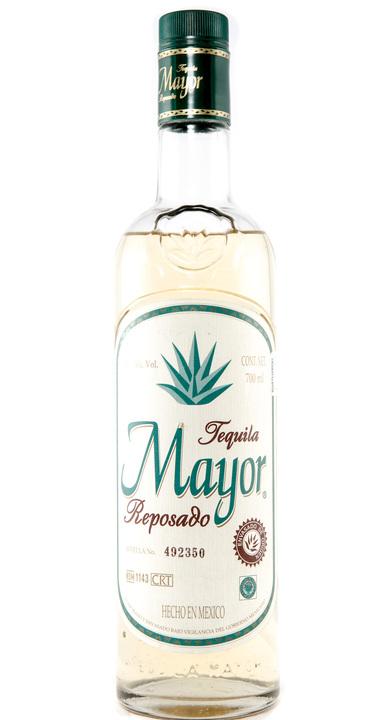 Bottle of El Mayor Reposado