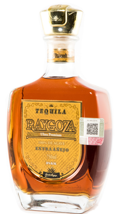 Bottle of Tequila Raygoza Extra Añejo