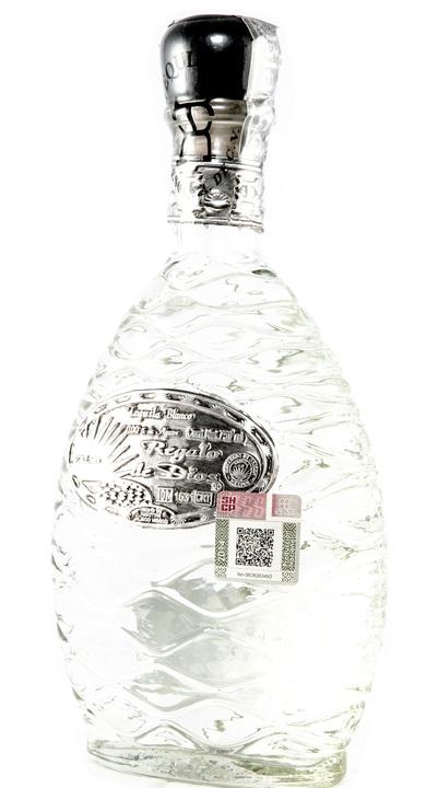 Bottle of Regalo de Dios Tequila Blanco
