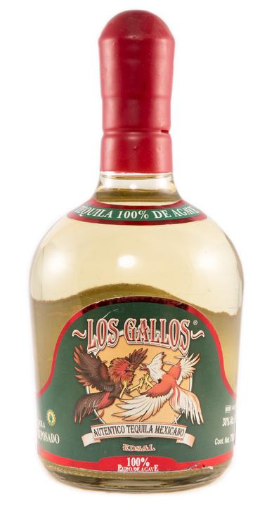 Bottle of Los Gallos Reposado