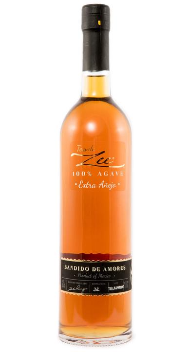 Bottle of Zee Bandido de Amores (Black Label) Extra Añejo