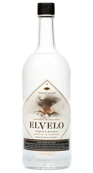 Bottle of Elvelo Tequila Blanco