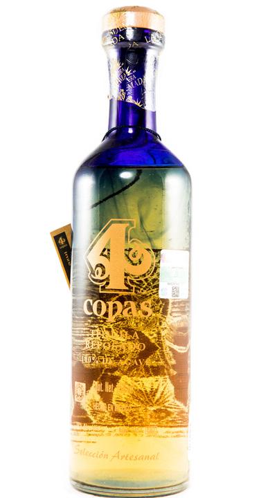 Bottle of 4 Copas Reposado