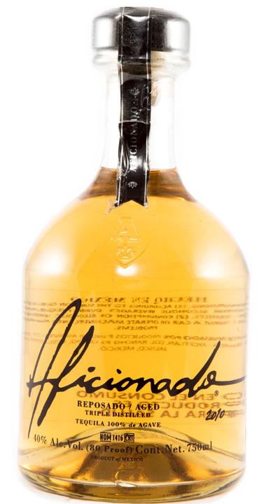 Bottle of Aficionado Reposado