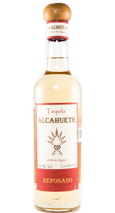 Bottle of Tequila Alcahuete Reposado