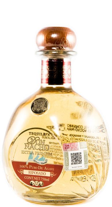 Bottle of Don Nacho Extra Premium Reposado