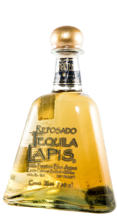Bottle of Lapis Tequila Reposado