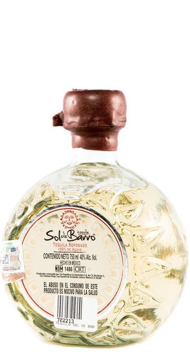Bottle of Sol de Barro Reposado